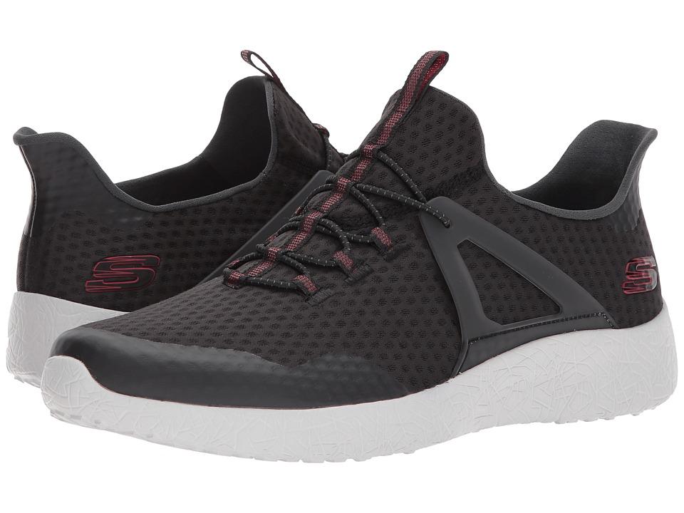 SKECHERS - Burst Shinz (Black) Men's Shoes