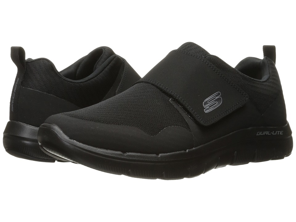 SKECHERS - Flex Advantage 2.0 Gurn (Black) Men's Shoes