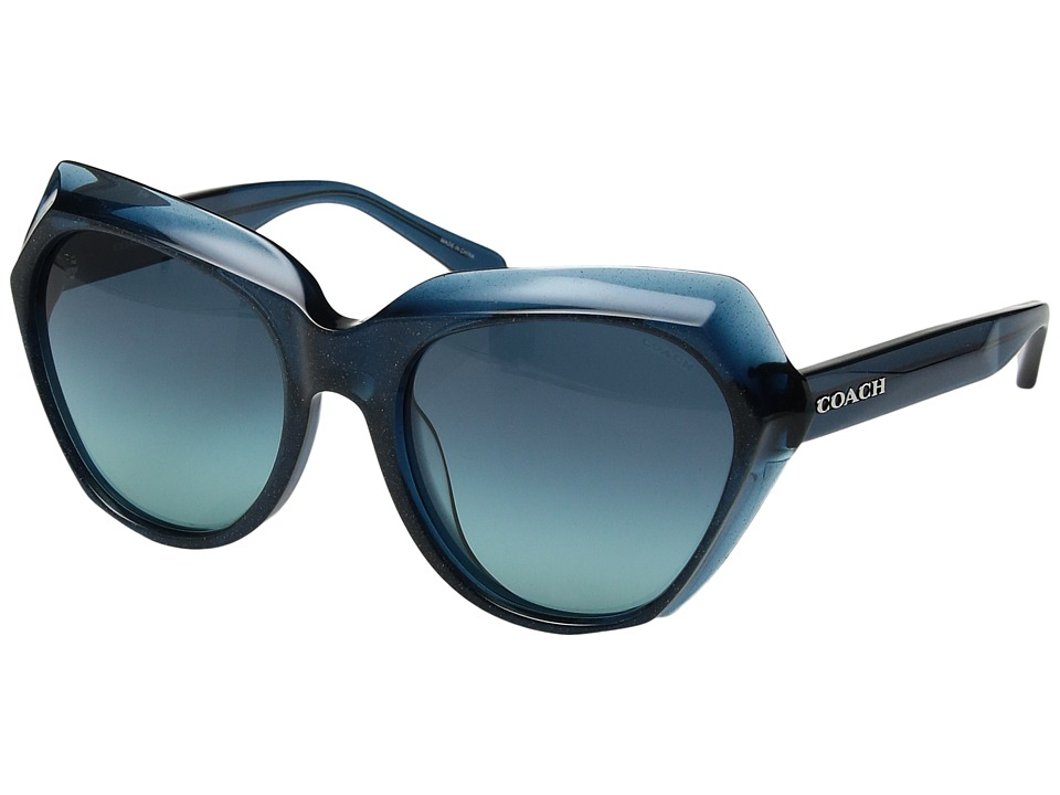 COACH - 0HC8193 (Blue) Fashion Sunglasses