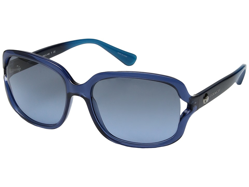 COACH - 0HC8169 (Blue) Fashion Sunglasses