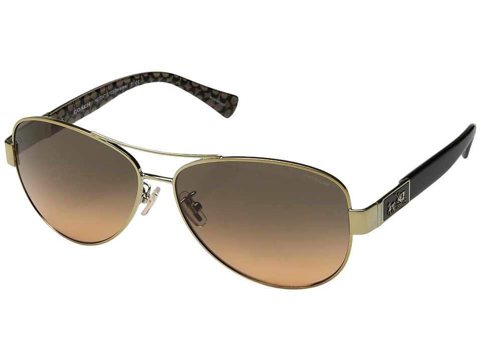 COACH - 0HC7047 (Gold) Fashion Sunglasses