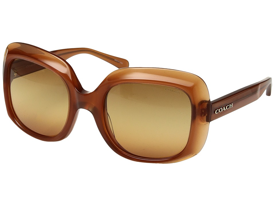 COACH - 0HC8194F (Tortoise) Fashion Sunglasses