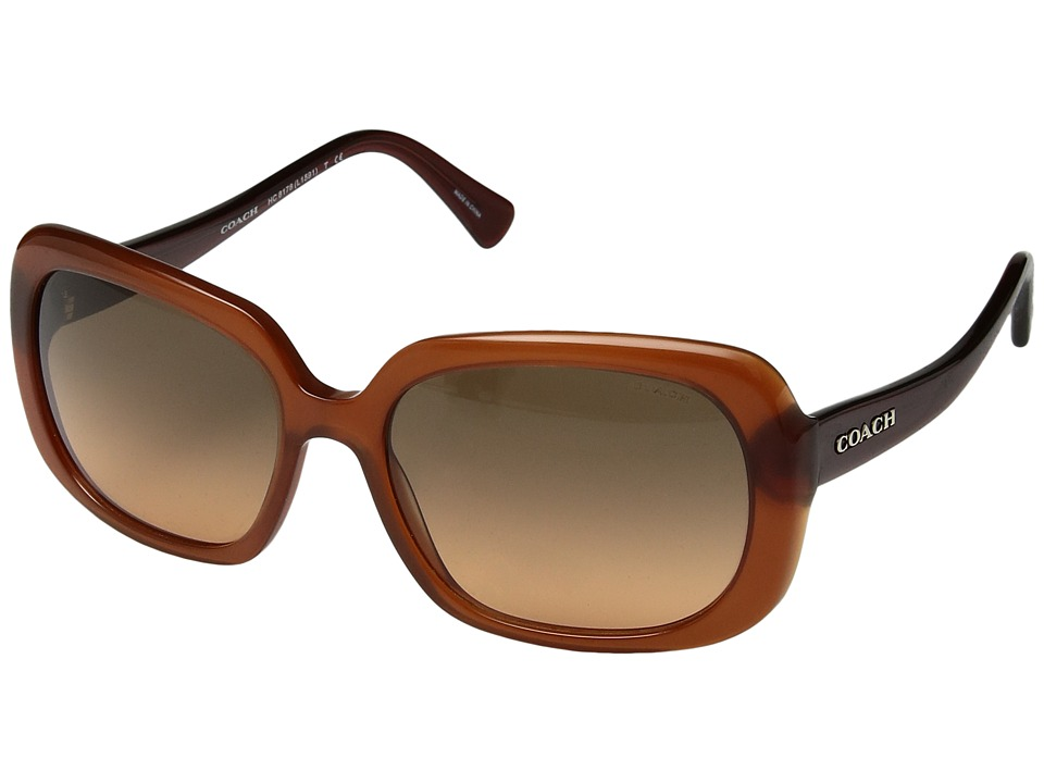COACH - 0HC8178 (Orange) Fashion Sunglasses