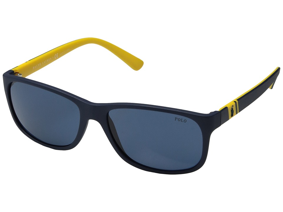 Polo Ralph Lauren - 0PH4109 (Blue) Fashion Sunglasses