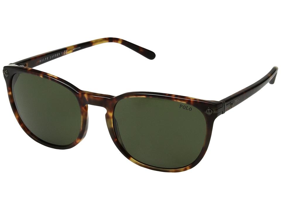 Polo Ralph Lauren - 0PH4107 (Havana Brown) Fashion Sunglasses