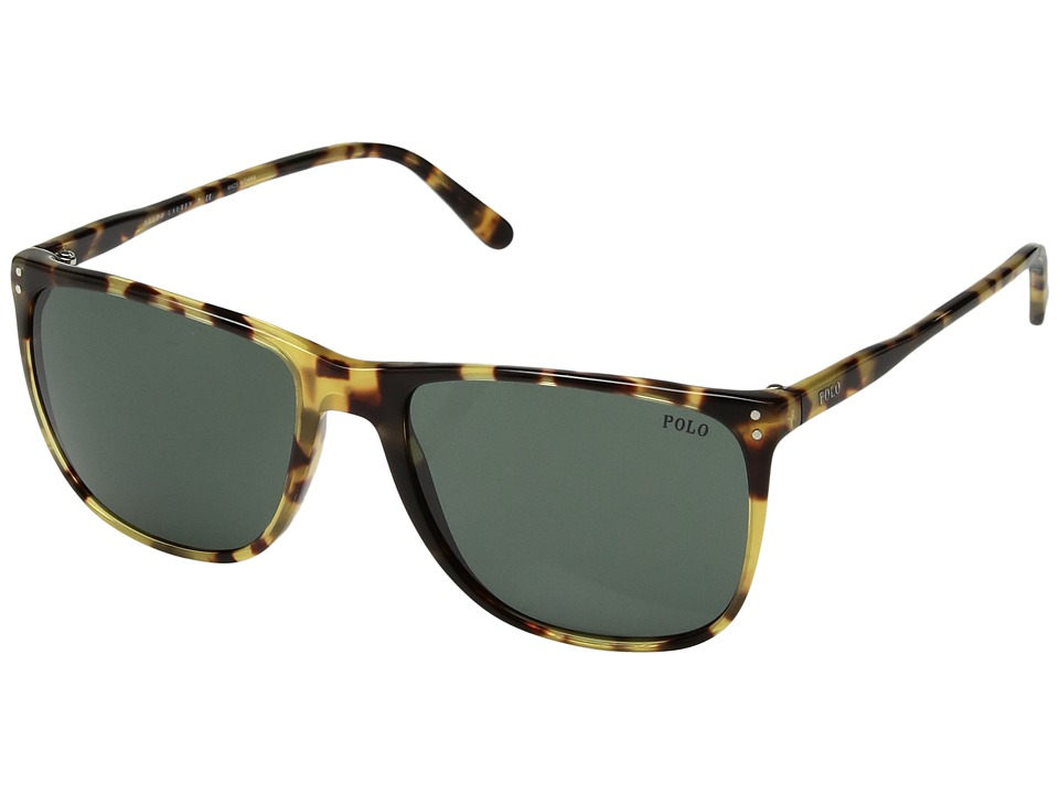 Polo Ralph Lauren - 0PH4102 (Havana Brown) Fashion Sunglasses