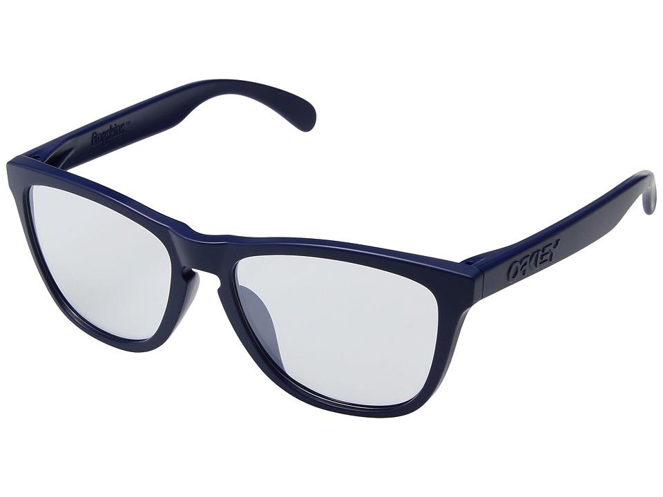 Oakley - Frogskins (Matte Blue) Sport Sunglasses