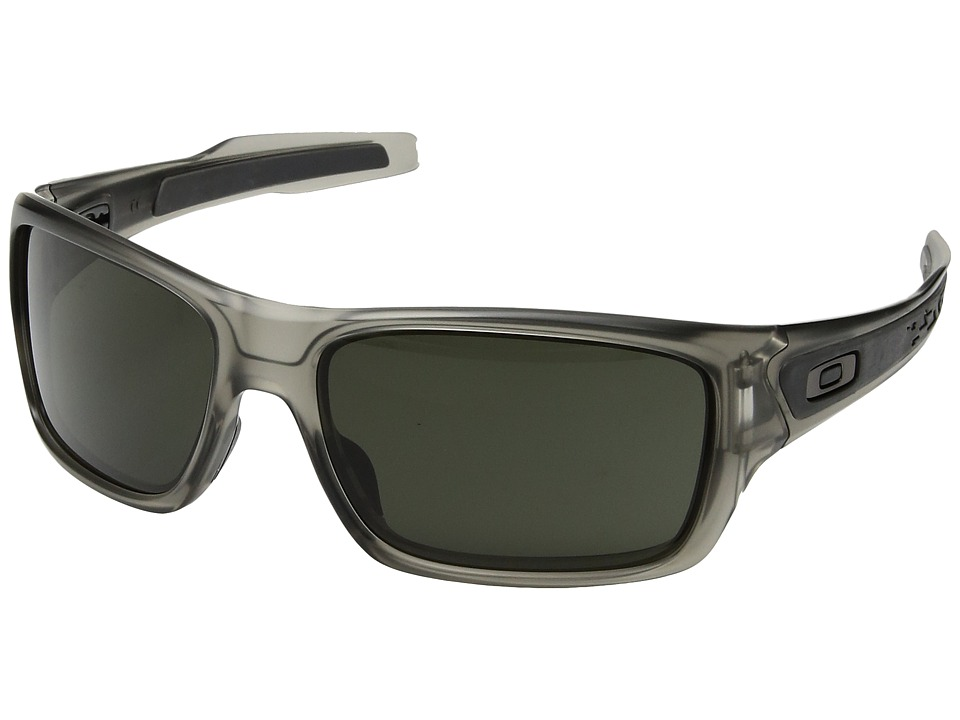 Oakley - Turbine (Matte Grey Ink with Dark Grey) Sport Sunglasses