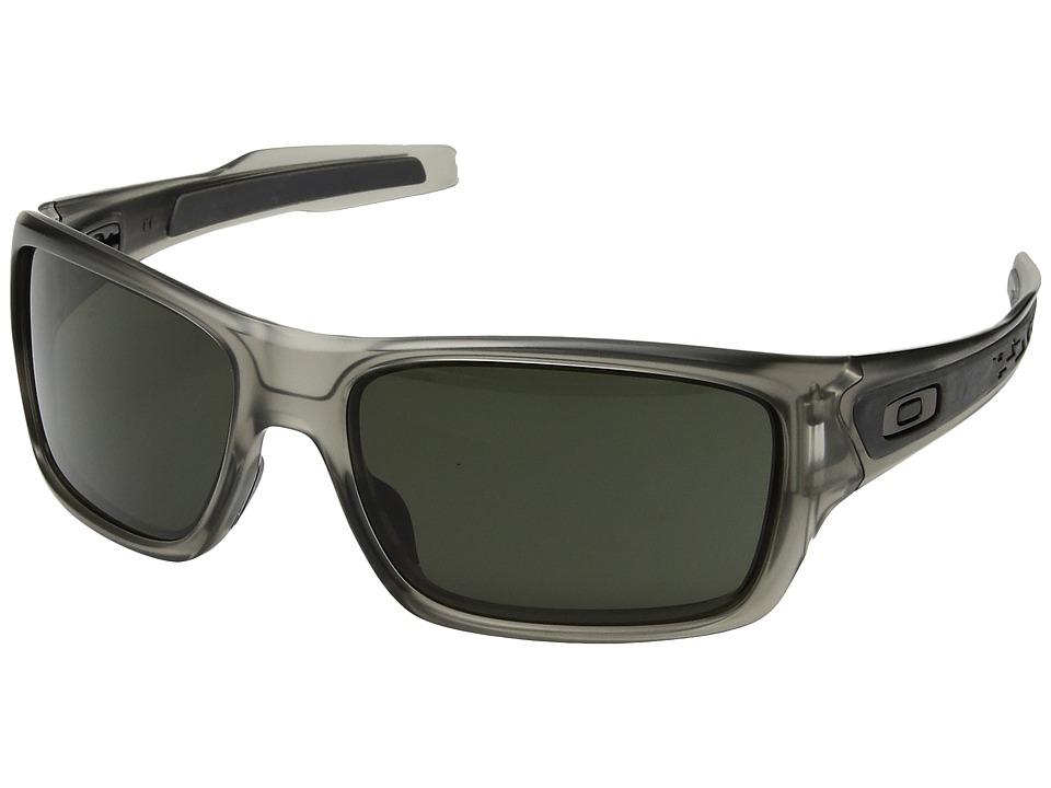 Oakley - Turbine (Matte Grey Ink with Dark Grey) Sport Sunglasses
