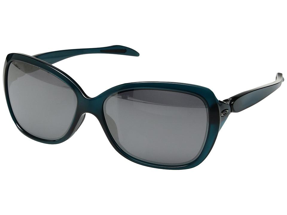 Oakley - MPH Catch Me (Crystal Aurora with Black Iridium) Sport Sunglasses