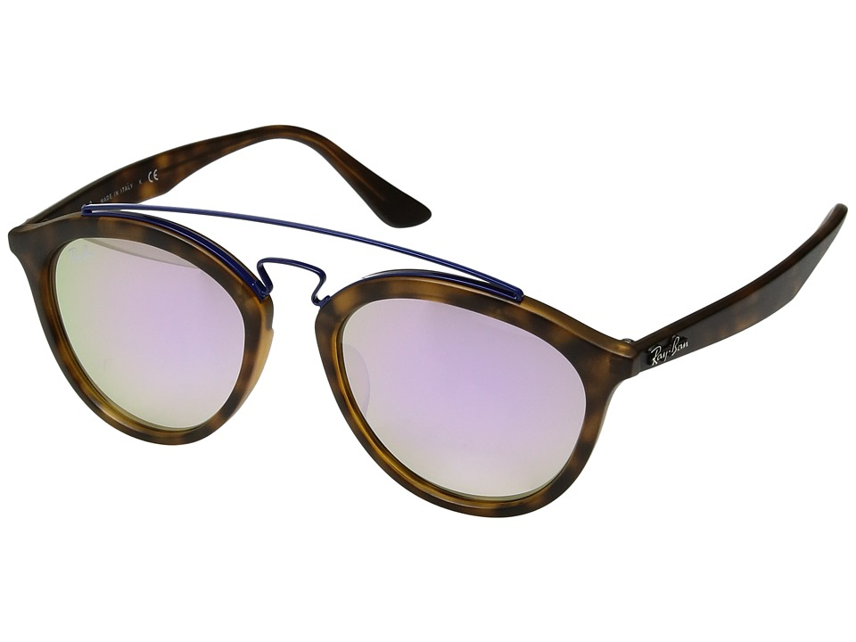 Ray-Ban - 0RB4257F (Tortoise) Fashion Sunglasses