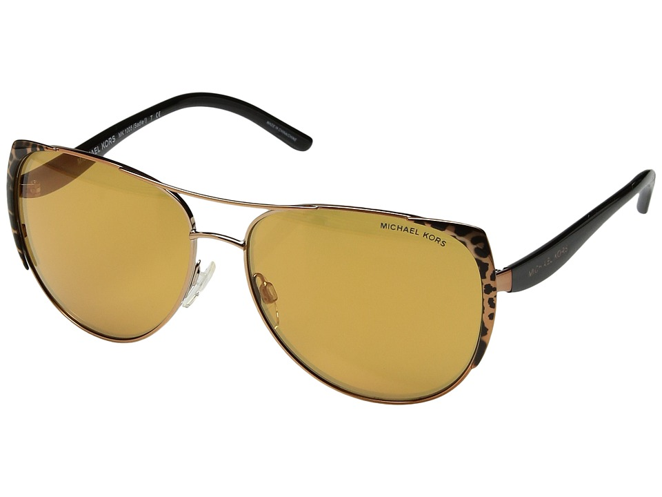 Michael Kors - 0MK1005 (Gold) Fashion Sunglasses