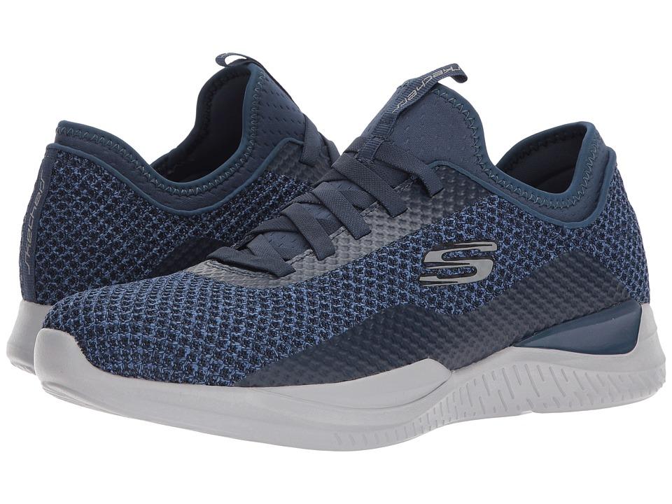 SKECHERS - Matrixx Bransin (Navy) Men's Shoes