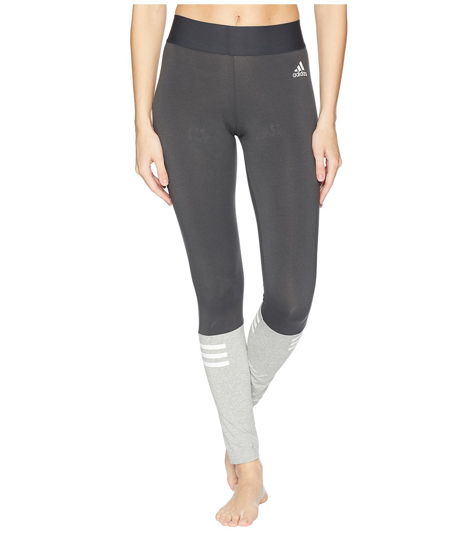adidas Sport ID Tights (Carbon/Medium Grey Heather) Women