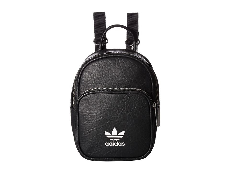adidas - AC Mini Backpack (Black) Backpack Bags