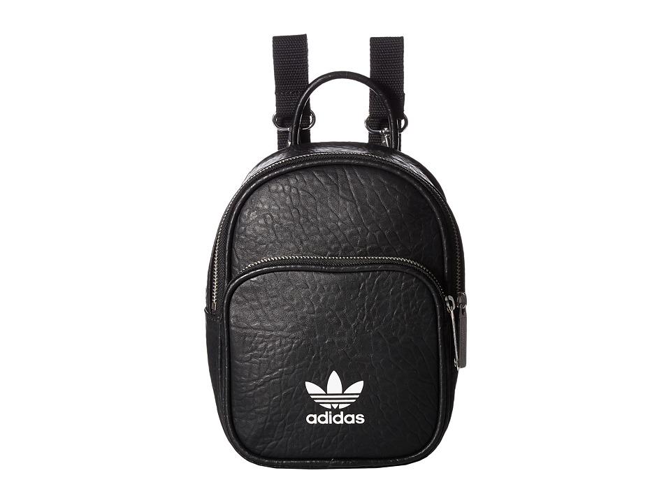 adidas - AC Mini Backpack (Black) Backpack Bags