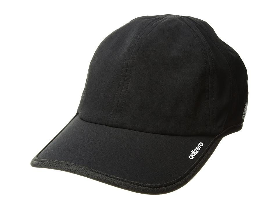 adidas - adiZero II Team Cap (Black/White) Baseball Caps