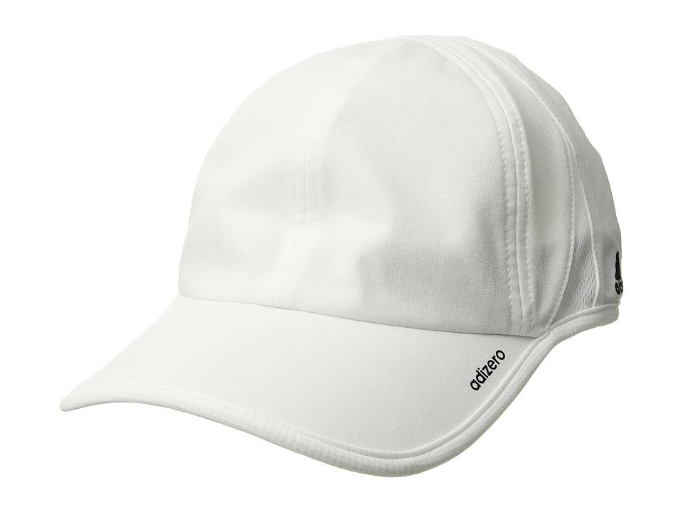 adidas - adiZero II Team Cap (White/Black) Baseball Caps