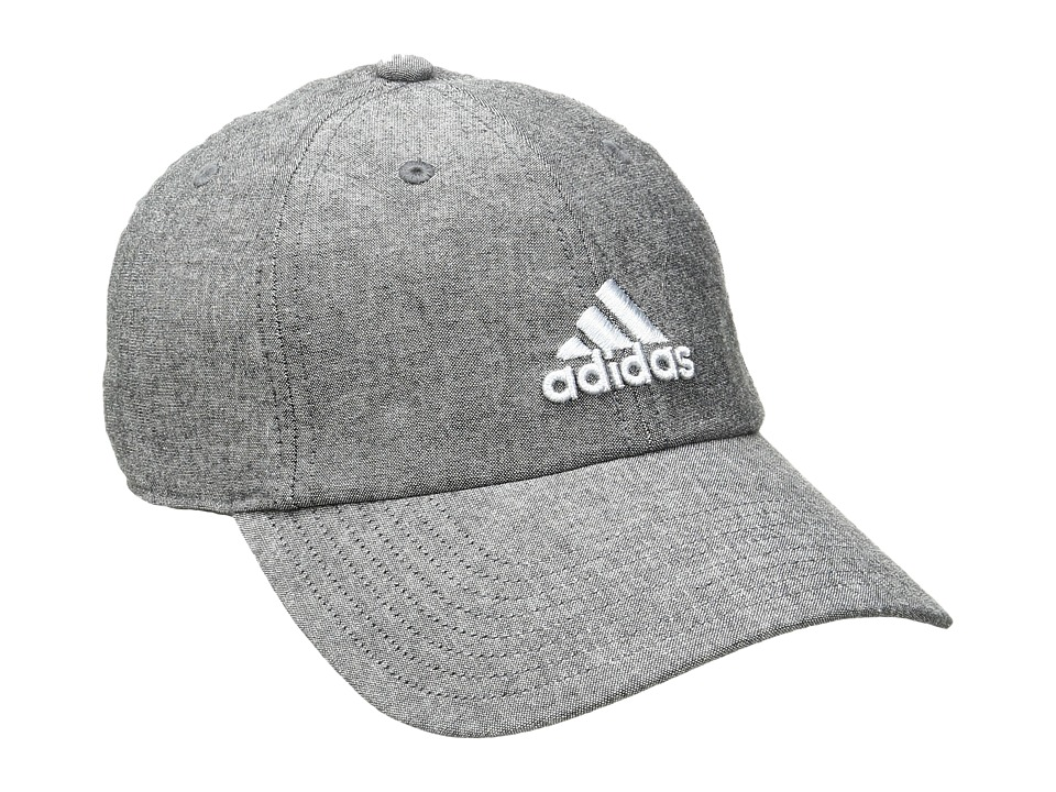 adidas - Saturday II Cap (Black/Grey/Clear Grey) Baseball Caps