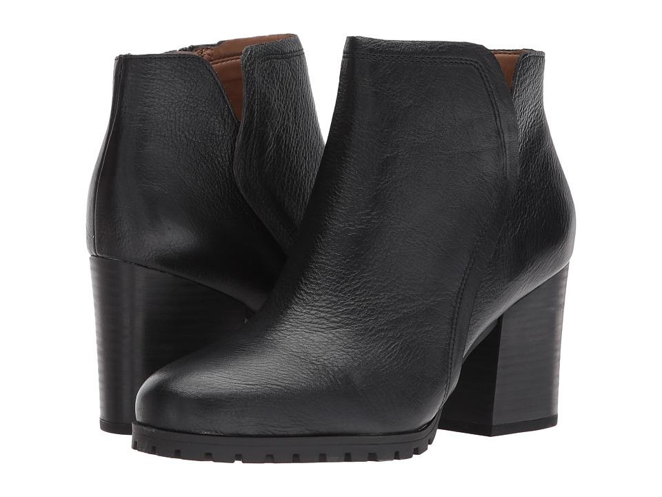 Franco Sarto Maysen (Black Tumbled Leather) Women