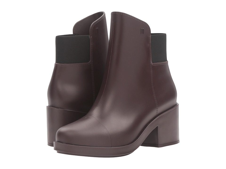 Melissa Shoes - Elastic Boot (Deep Purple) Women's Shoes