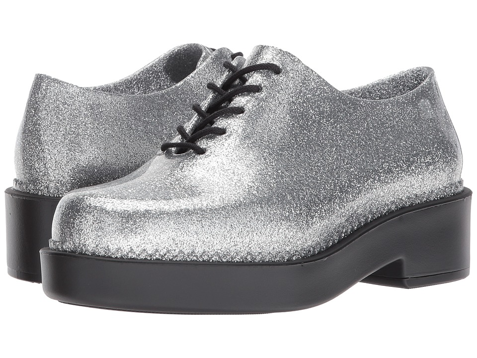 Melissa Shoes - Grunge (Glass/Silver/Black) Women's Shoes