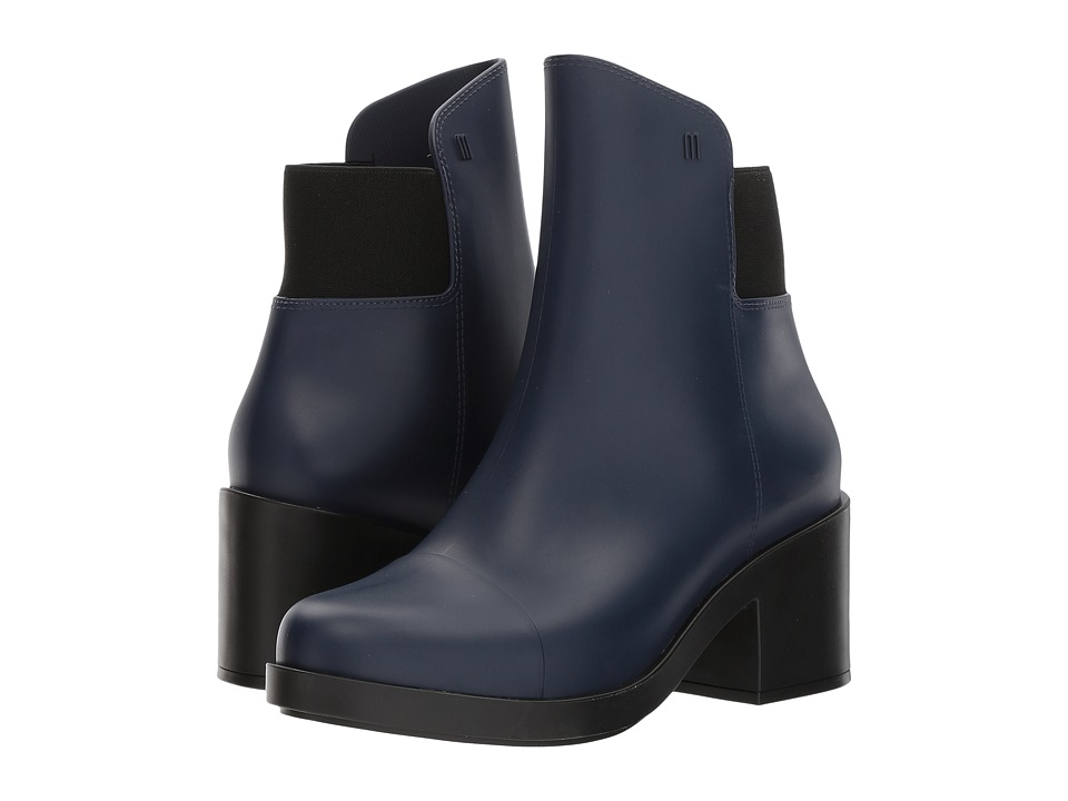 Melissa Shoes - Elastic Boot (Blue/Black) Women's Shoes