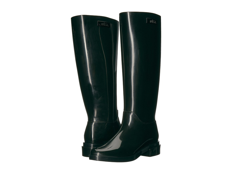 Melissa Shoes - Long Boot (Black) Women's Boots
