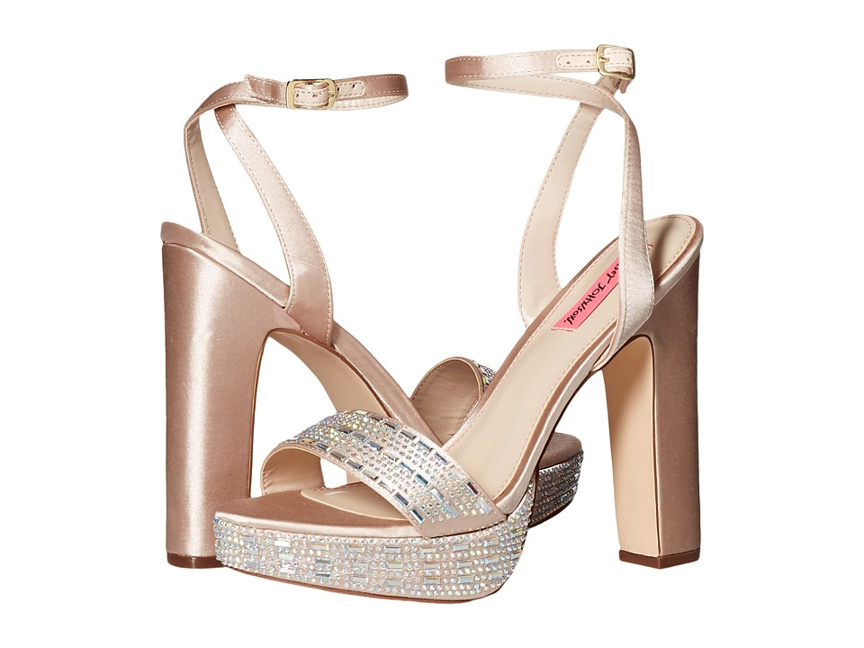 Betsey Johnson Alliie (Champagne) High Heels