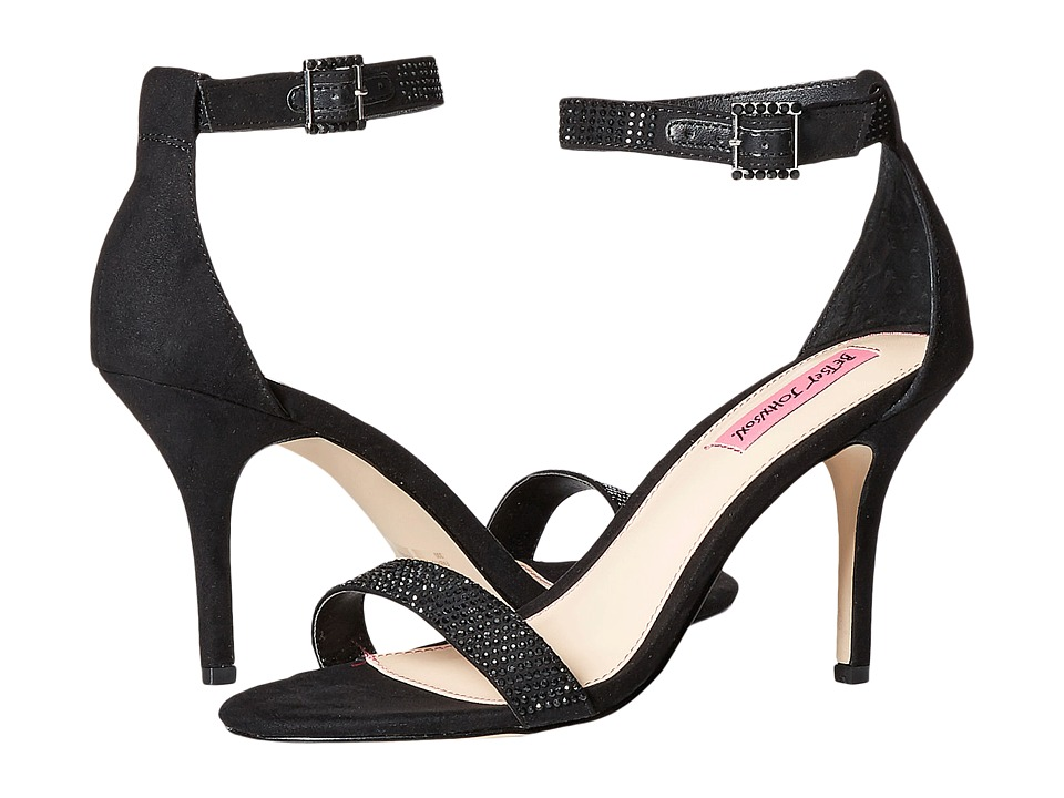 Betsey Johnson Brodway (Black) High Heels
