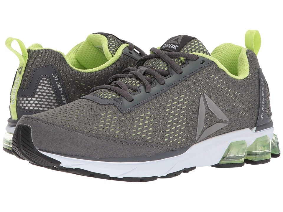 Reebok - Jet Dashride 5.0 (Ironstone/Electric Flash/White/Ash Grey) Men's Shoes