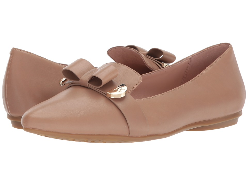 Taryn Rose Edith (Beige Soft Calf) Women