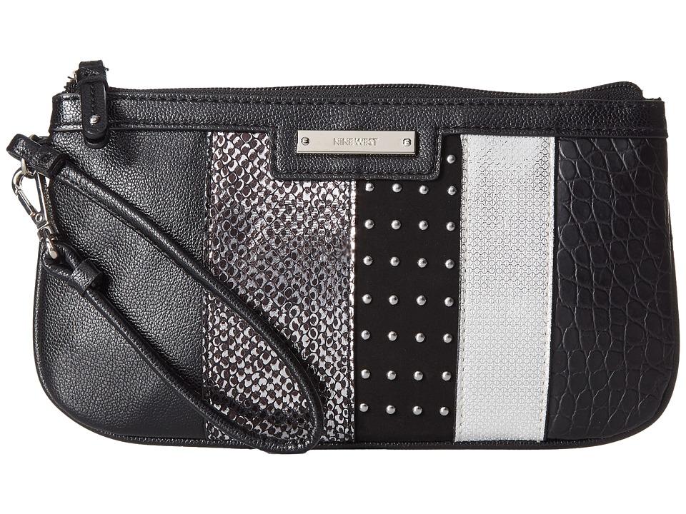 Nine West - Pretty Wristlet (Black) Handbags