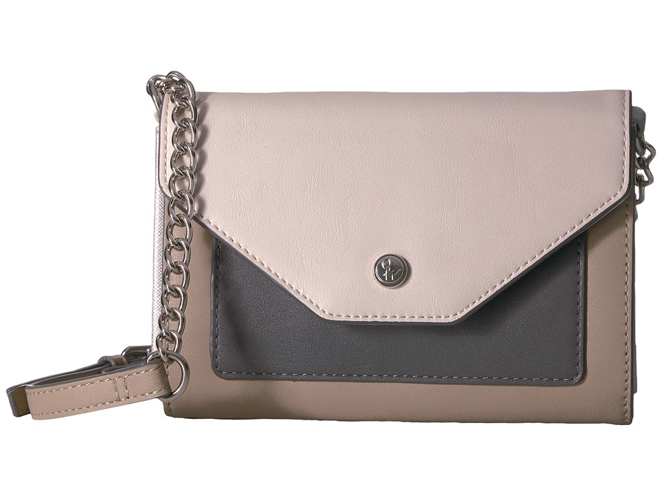 Nine West - Table Treasures - Aleksi (Mushroom/Milk/Steel) Handbags