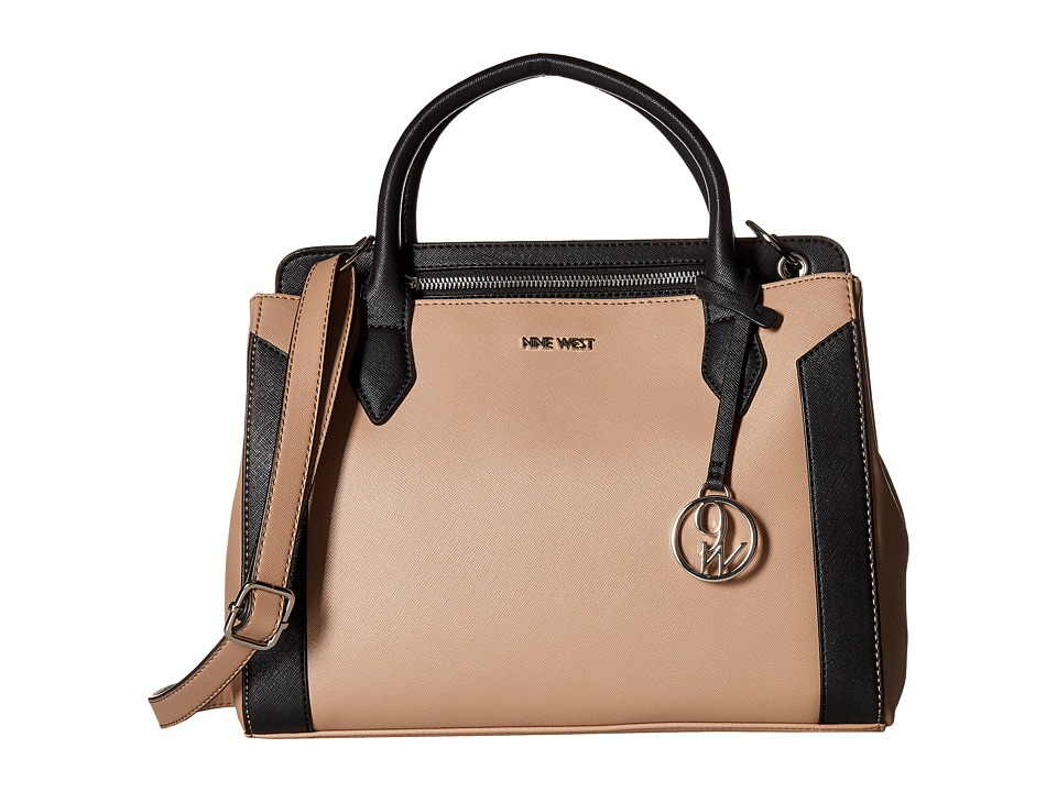 Nine West - Lady Luxury (Mink/Black) Handbags