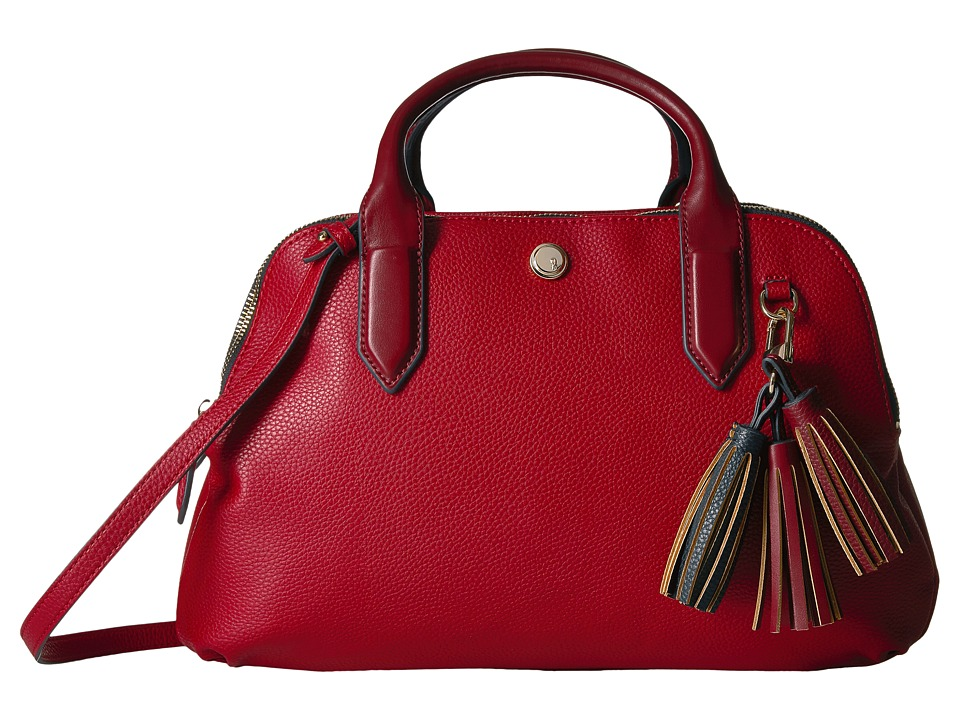 Nine West - Esmerelda (Ruby Red/Oxblood/French Navy/Ruby Red/Oxblood) Handbags
