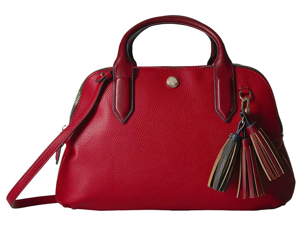 Nine West - Esmerelda (Ruby Red/Oxblood/French Navy/Ruby Red/Oxblood) Handbags