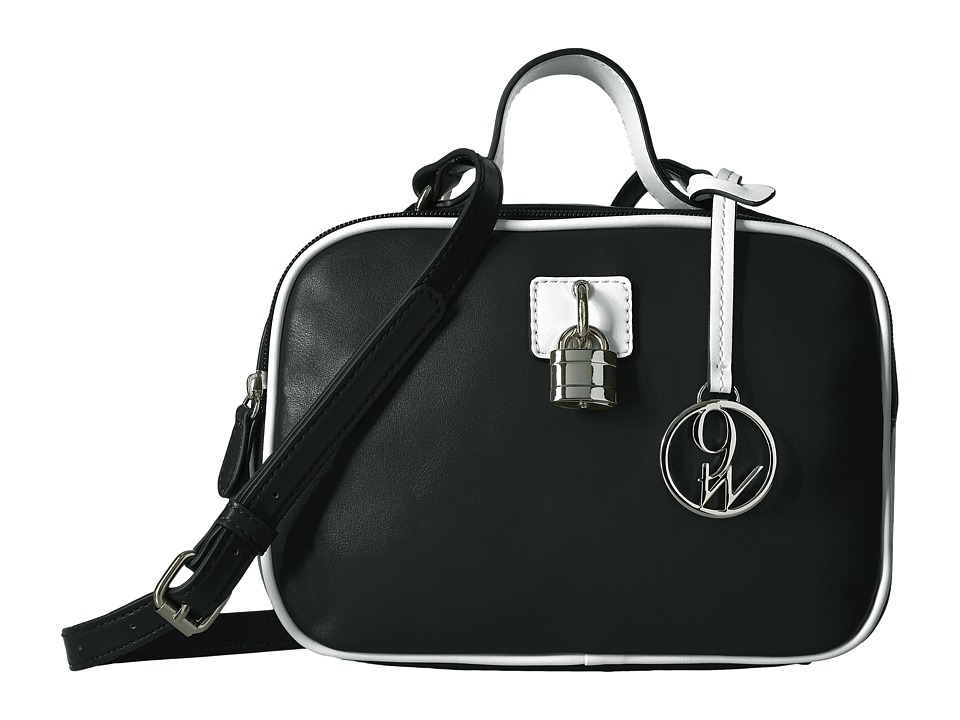 Nine West - Steffi Crossbody (Black/White) Handbags