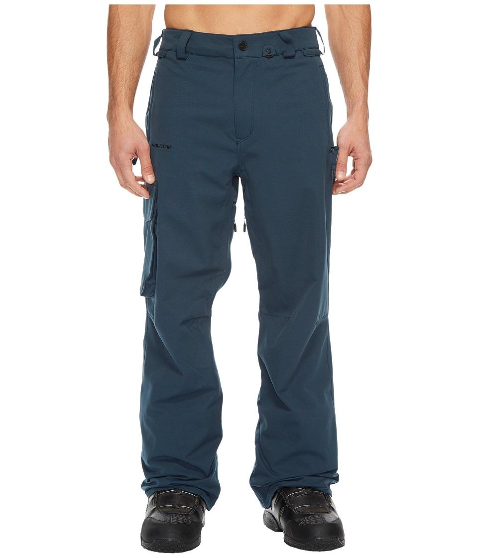 Volcom Snow Ventral Pants (Snow Vintage Navy) Men