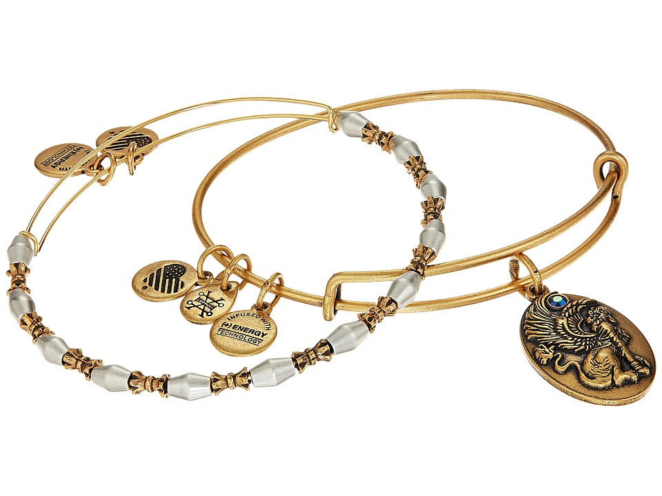 Alex and Ani - Sphinx Bracelet Set of 2 (Two-Tone) Bracelet