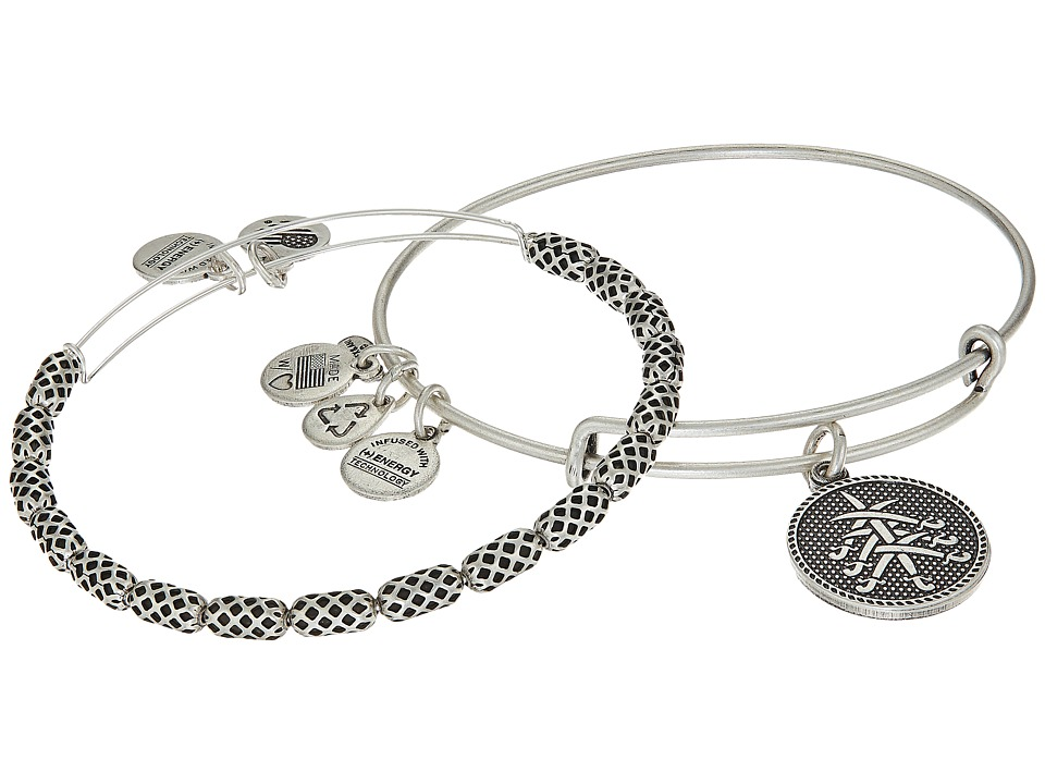 Alex and Ani - Seven Swords Bracelet Set of 2 (Silver) Bracelet