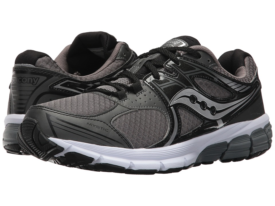 Saucony - Grid Mystic (Grey/Black) Men's Shoes