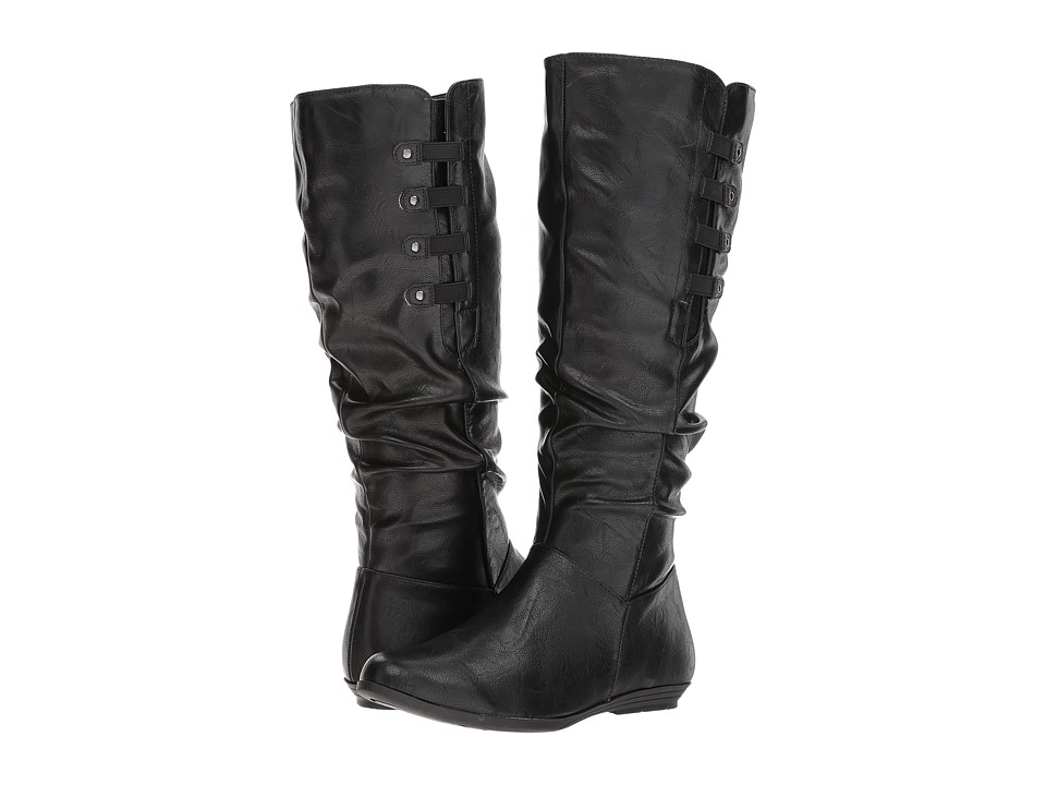White Mountain - Fordham Wide Shaft (Black) Women's Shoes