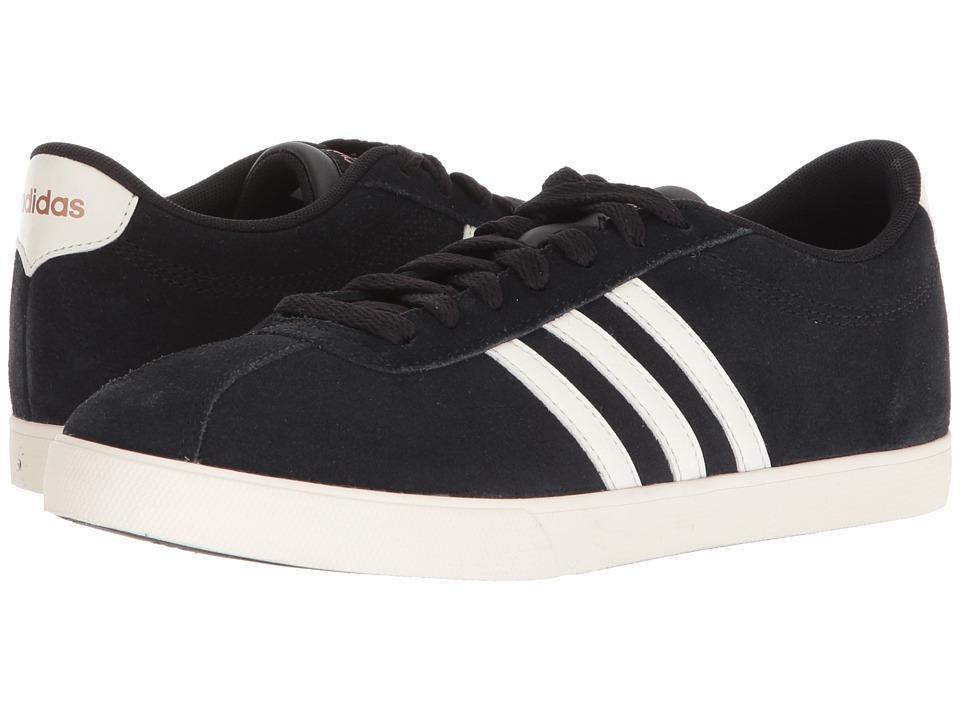 adidas Courtset (Black/Chalk White/Copper Suede) Women
