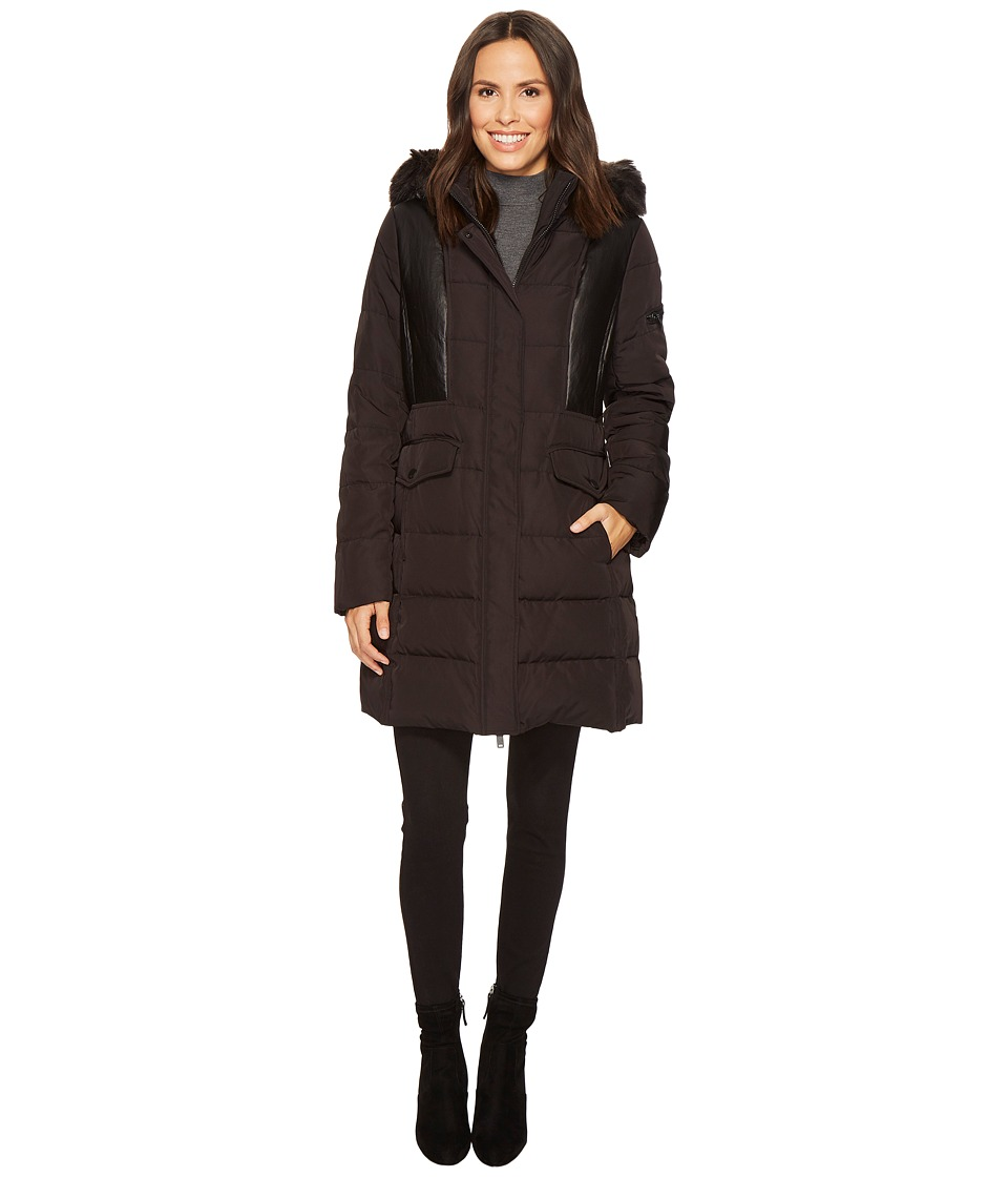 7 For All Mankind - Down Coat (Black 1) Women's Coat