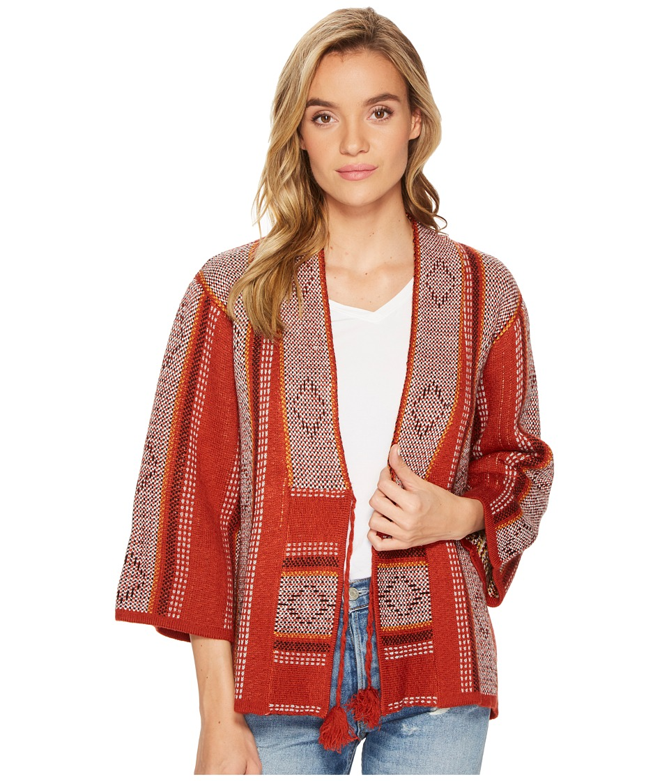 Volcom Palms Up Sweater (Rust) Women