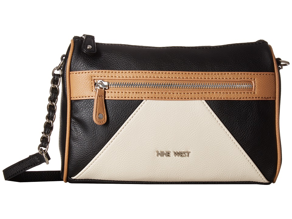 Nine West - Mixed Signals (Black/Dark/Milk) Handbags