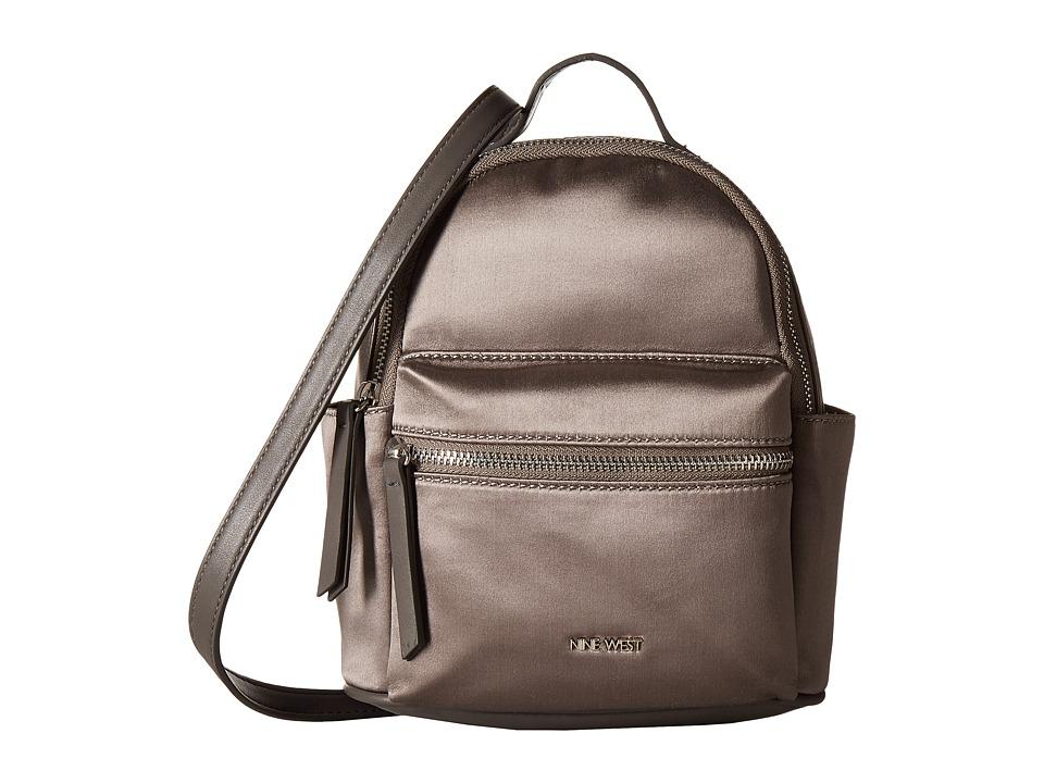 Nine West - Taren Crossbody (Fog/Steel) Handbags