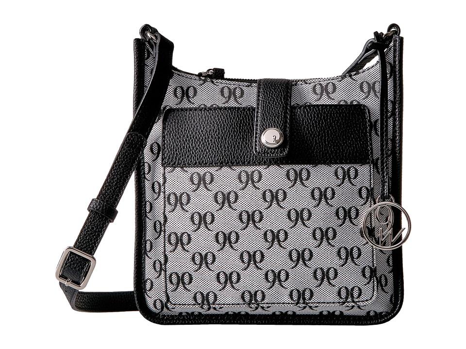 Nine West - Aspen (Black/White/Black) Handbags