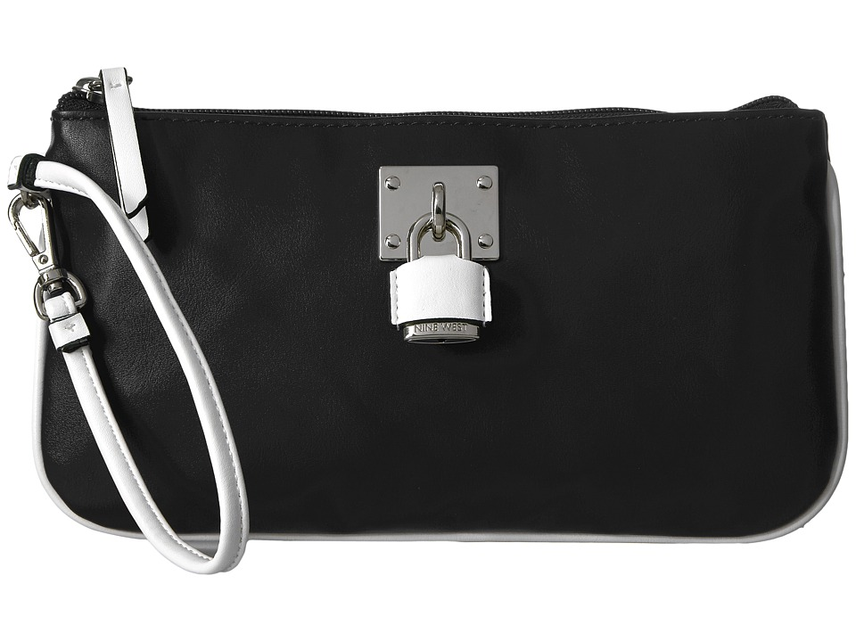 Nine West - Table Treasures - Wristlet (Black/White 1) Handbags